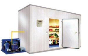 organizzare cella frigo